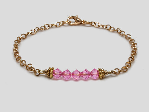 Birthstone Bracelet - October