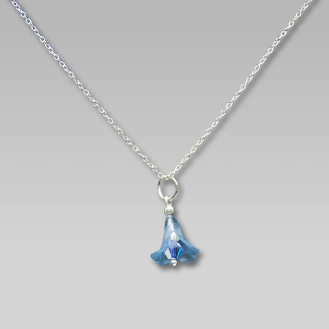 Blue Florabelle Necklace