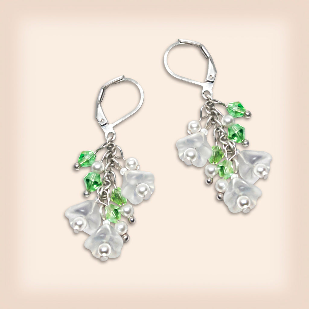 Flower Bridal Earrings