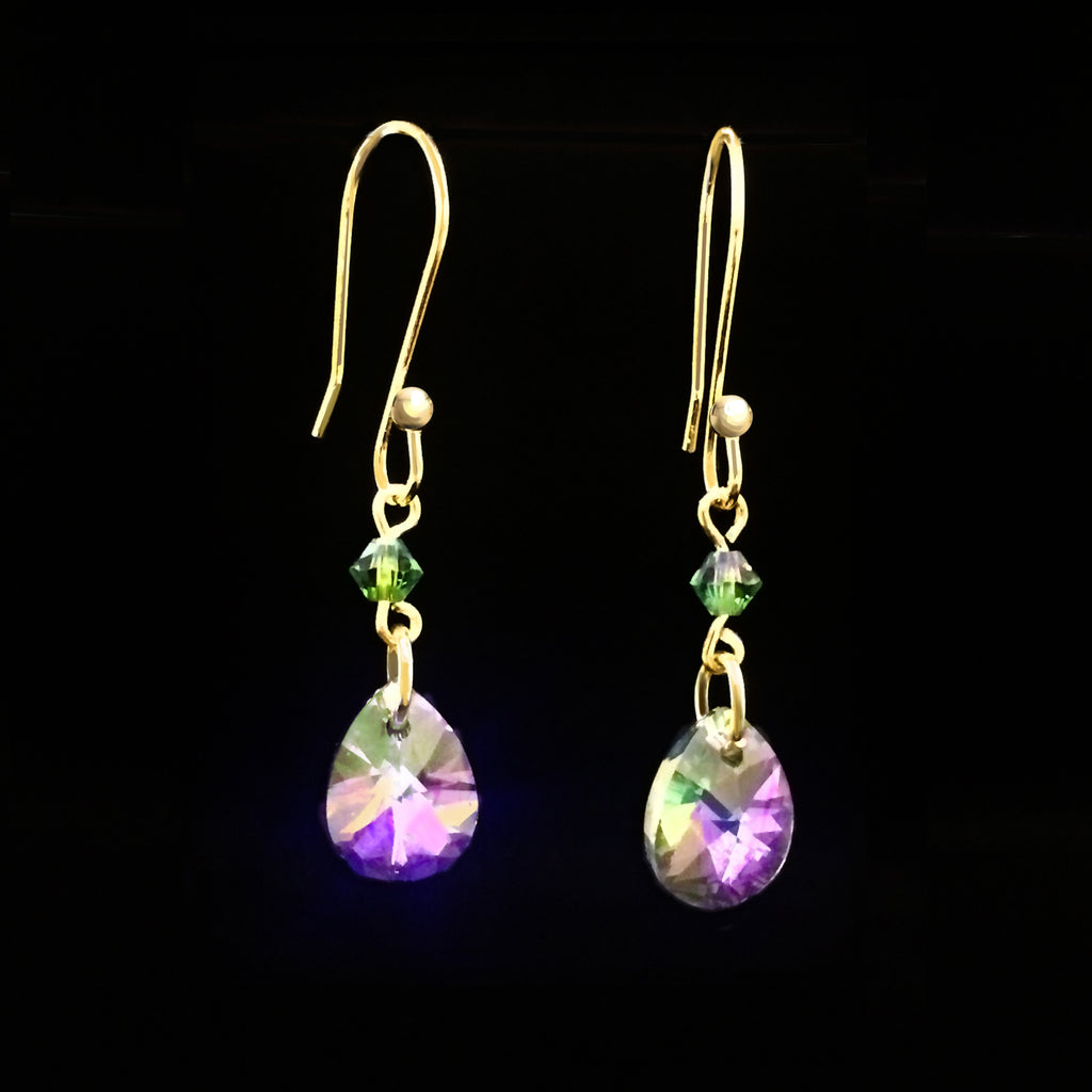 Swarovski Prism Drop Earrings