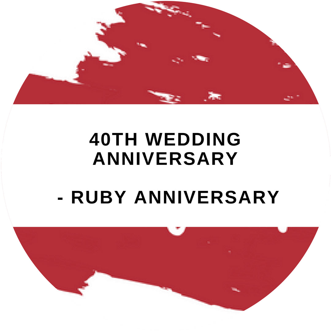 40th Anniversary Gift Ideas - Ruby Jewellery!