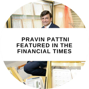 Minar Jewellers' Pravin Pattni featured in the Financial Times