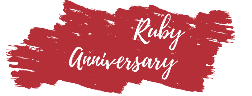 Ruby Wedding Gifts For Men: 40th Anniversary Gift Ideas