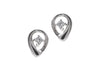 18ct White Gold Diamond Stud Earrings MCS2491_D