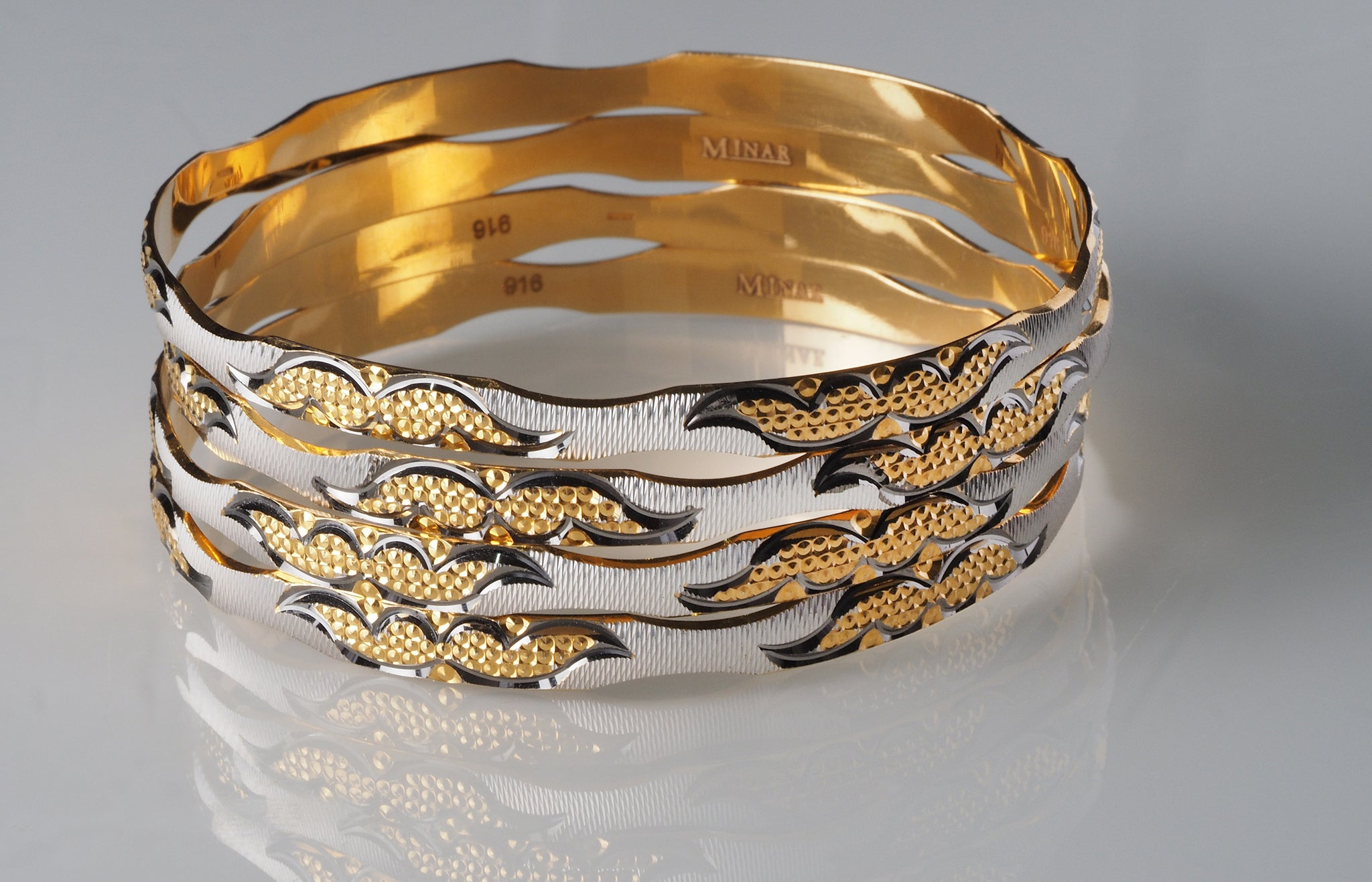 metal classic andaaz lightweight products gold bangles jewelers
