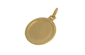 22ct Yellow Gold Pendant, Minar Jewellers - 1