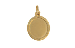 22ct Yellow Gold Pendant, Minar Jewellers - 2