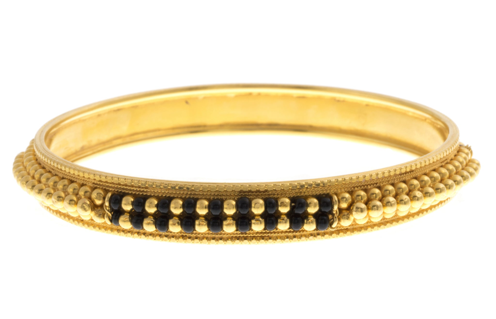 Hand Finished 22ct Yellow Gold Bangle (29.6g) (B-1564)