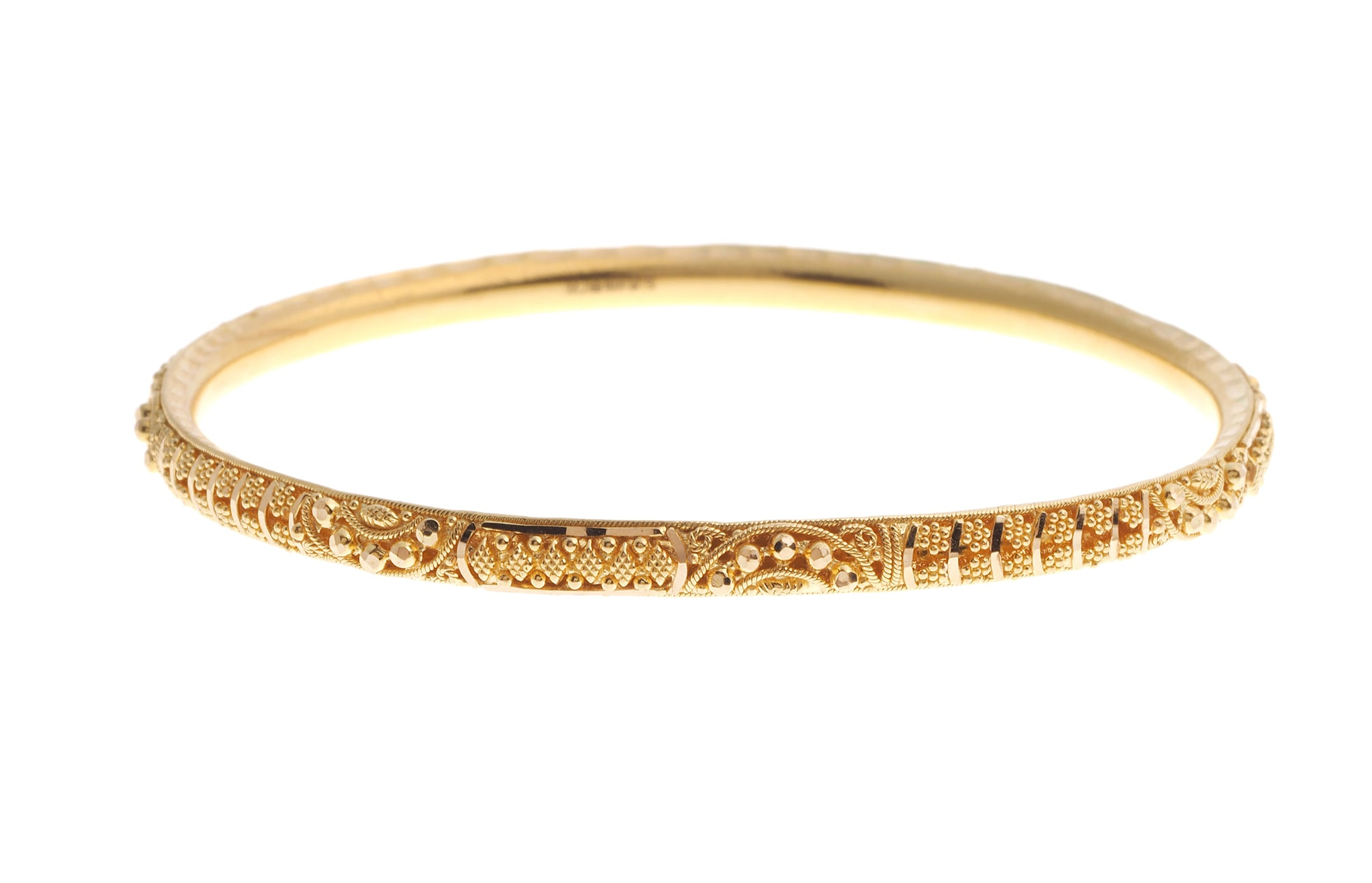 water gold kada bangles usd jewellery product detail plain bracelets bangle bracelet