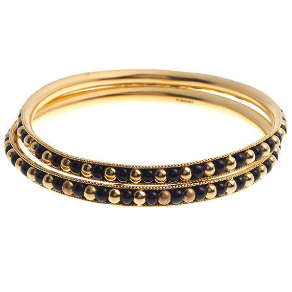 2 x 22ct Yellow Gold Bangles (B-4090) (online price only)