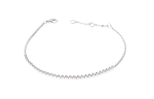 18ct White Gold Diamond Bracelet (B32021C-3000)