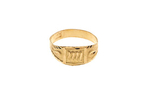 22 Carat Gold Children's Ring (BR-5791) (online price only)
