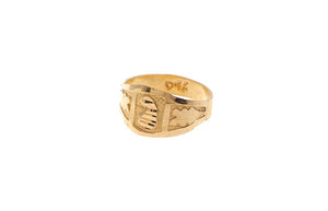 22 Carat Gold Children's Ring (BR-5924) (online price only)