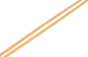 22ct Gold Spiga Chain with Lobster Clasp (C-2804)