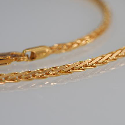 22ct Gold Spiga Unisex Chain (C-2816)