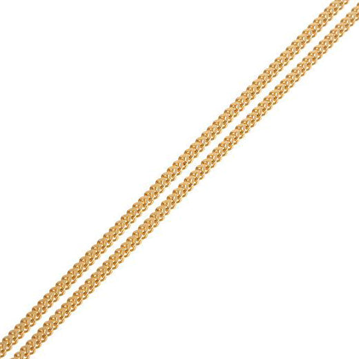22ct Yellow Gold Foxtail Chain C-3795
