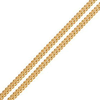 22ct Gold Foxtail Chain with a lobster clasp C-3797