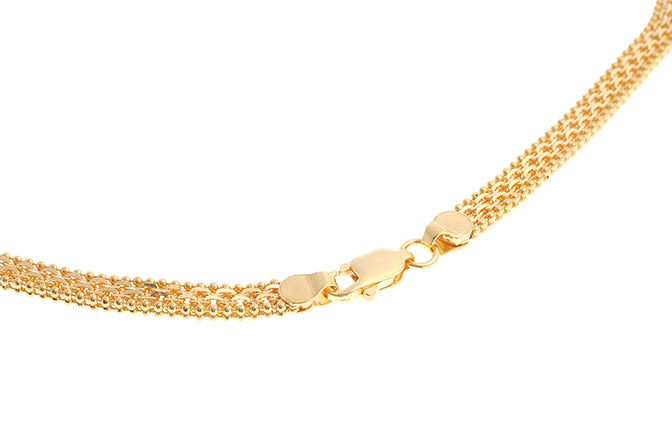 22ct Gold Fancy Chain with Lobster Clasp (32g) (C-4615)