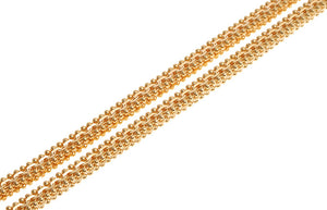 22ct Gold Fancy Chain with a lobster clasp (C-4616)