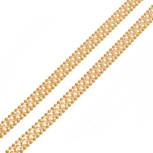 22ct Yellow Gold Fancy Chain (C-4746) (online price only)