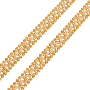 22ct Gold Fancy Chain with lobster clasp (C-4746)