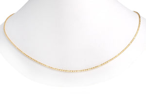 22ct Gold Chain with a hook clasp (9.8g) (C-4827)
