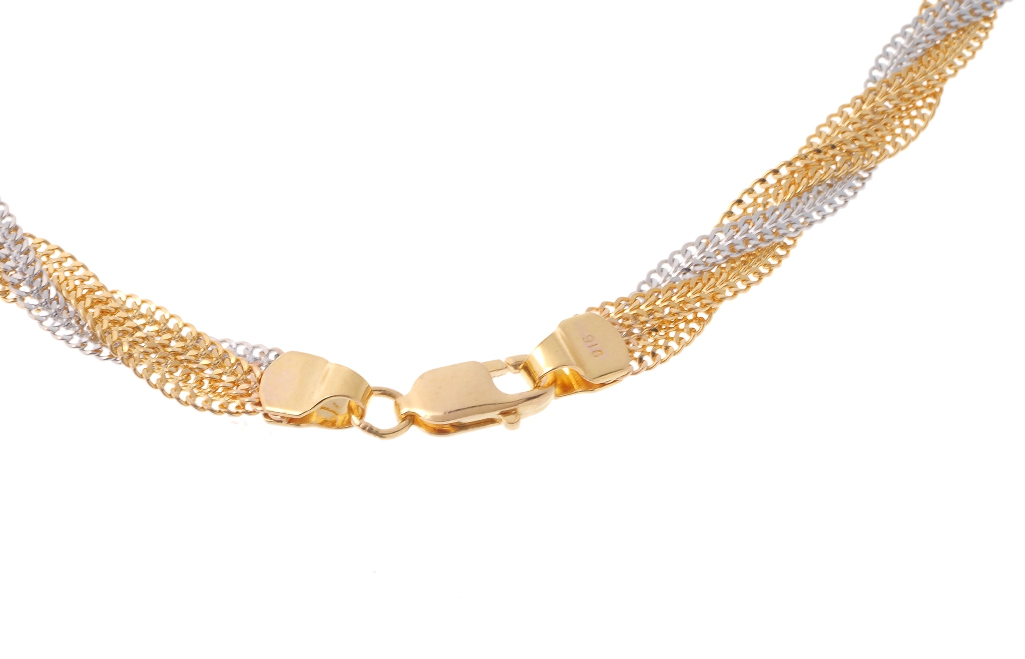 22ct Gold Ribbon Chain (C-5288)