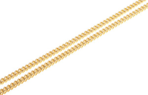 22ct Gold Foxtail Chain with a lobster clasp (17.7g) (C-5899)