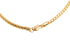 22ct Gold Fancy Snake Chain with Lobster Clasp (19g) (C-6250)