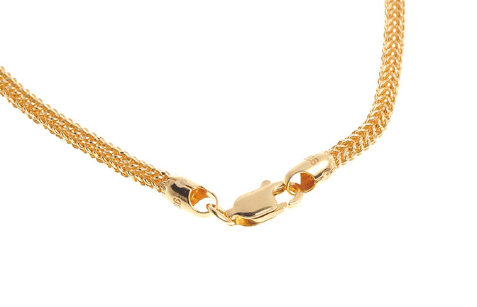 22ct Gold Spiga Chain with Lobster Clasp (C-6253)