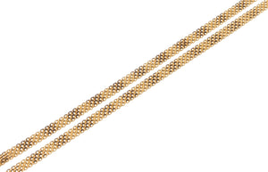 22ct Gold Flat Ribbon Chain (C-7127)