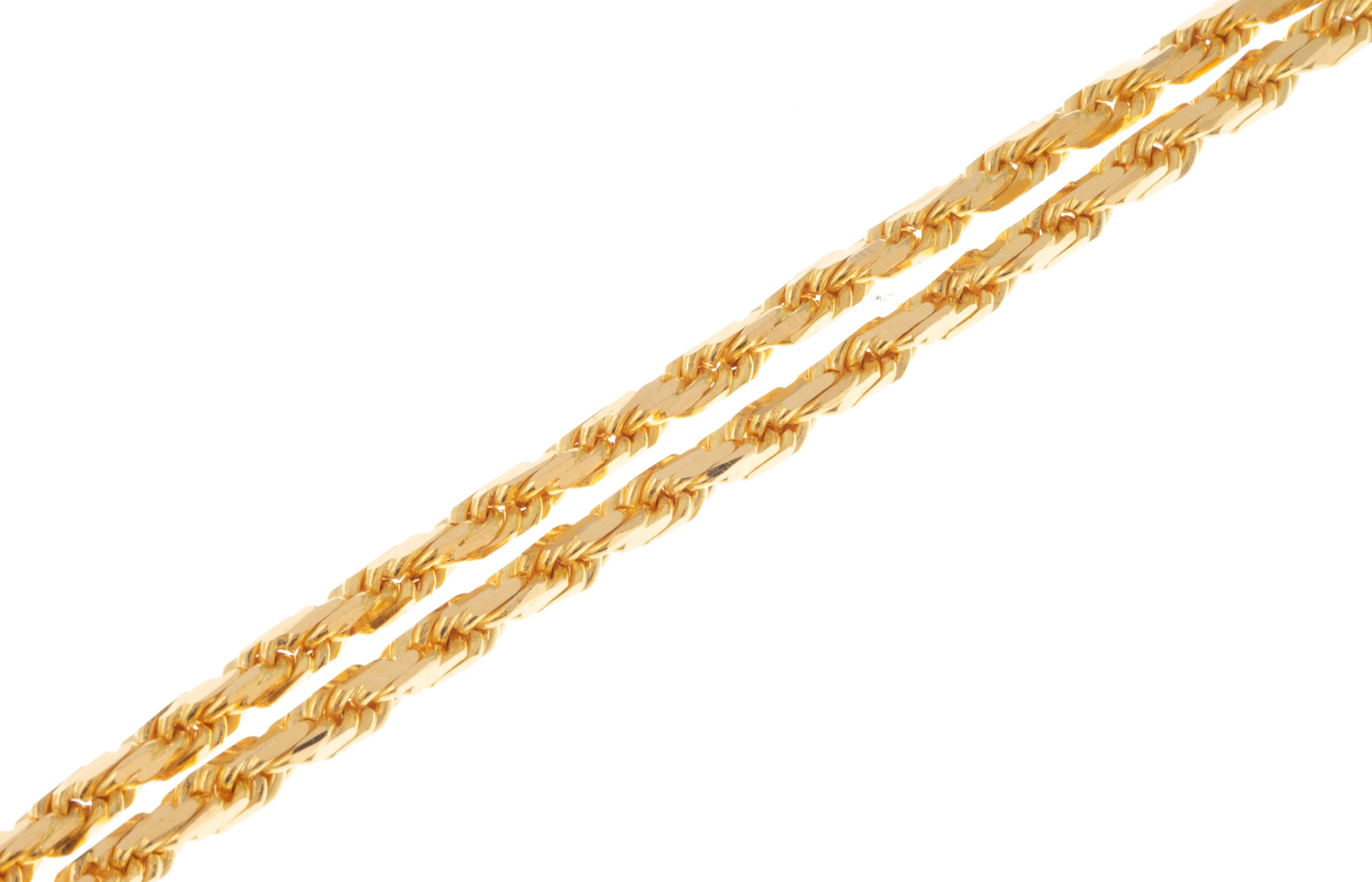 22ct Gold Rope Chain (39.6g) C-7358