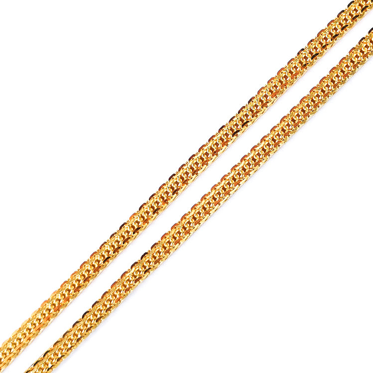22ct Gold Chain with lobster clasp C-7602