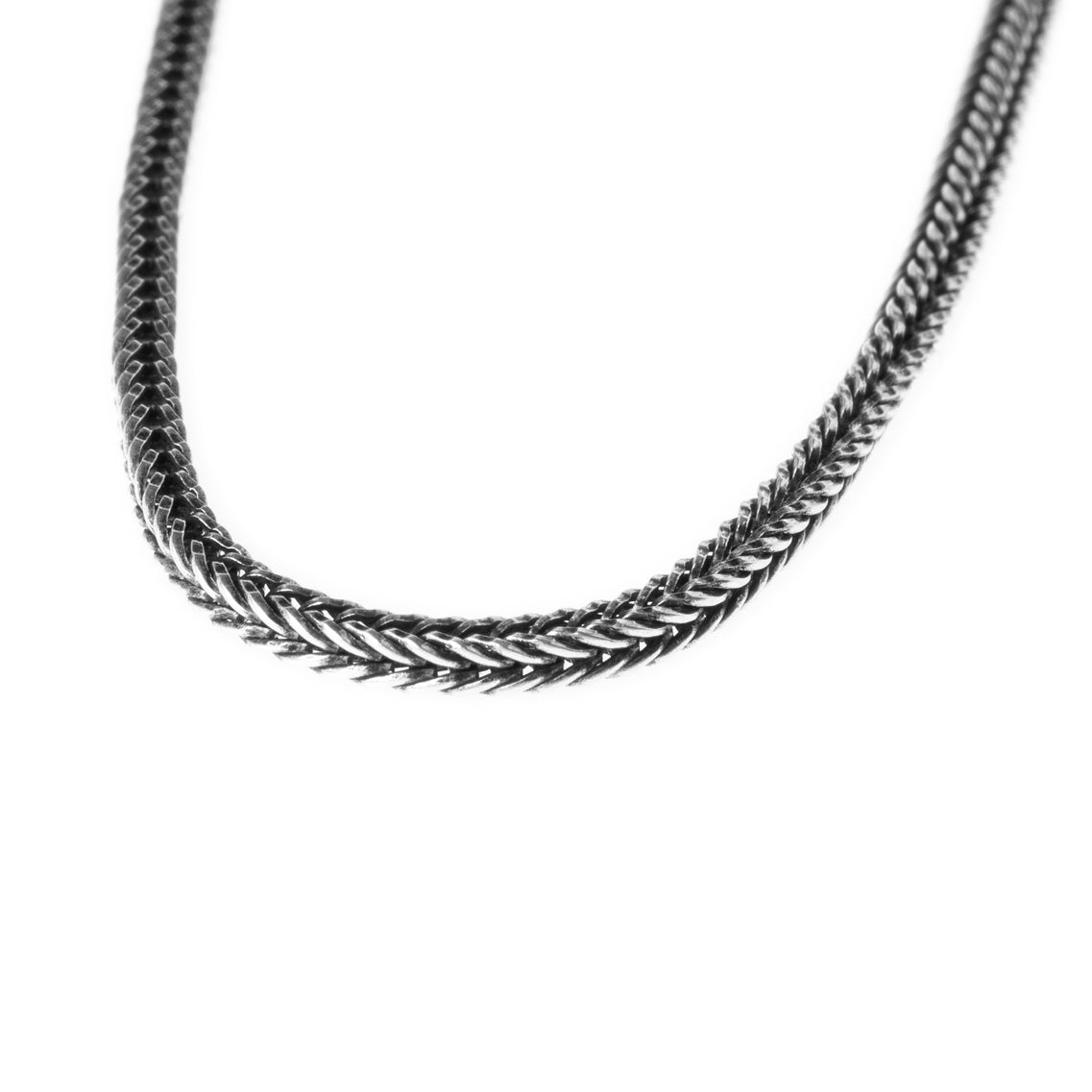 Sterling Silver Spiga Chain with Ring Clasp C-7947