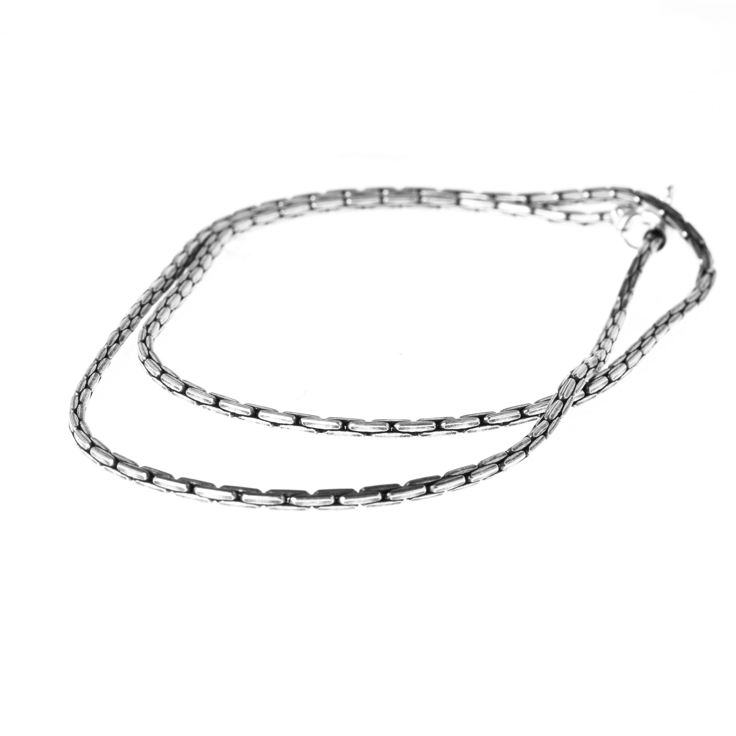 Sterling Silver Tight Cable Chain C-7950
