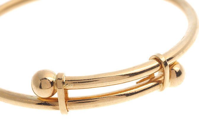 22ct Gold Adjustable Children's Bangles CB-5703