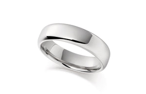 Palladium Gents Wedding Band CCN6