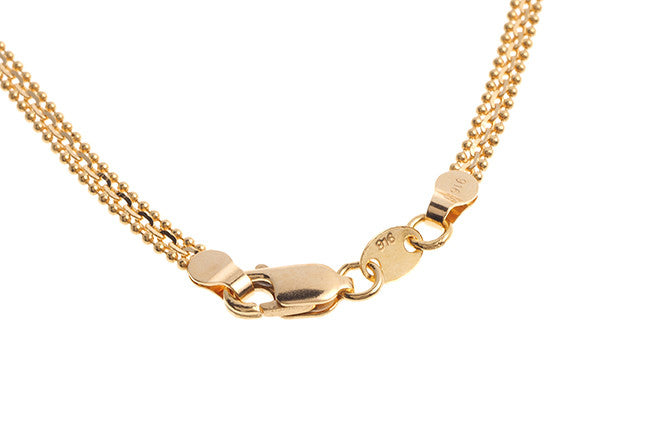 22ct Gold Fancy Chain with Lobster Clasp (C-3465)