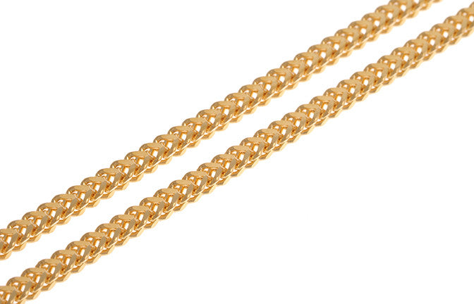 22ct Gold Foxtail Chain with Lobster Clasp (7.9g) CH_22SICHMMEC_4