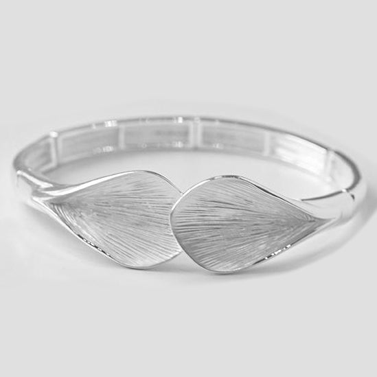 Hand Painted Silver Plated Fashion Bangle 1575s