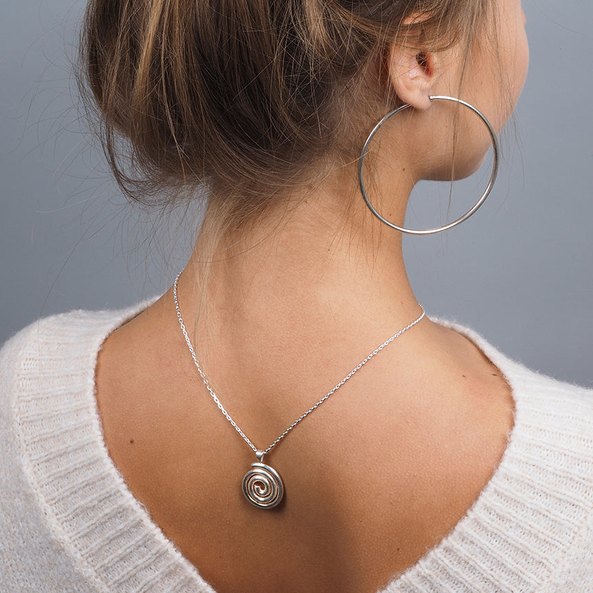 Sterling Silver Pendant (P-5038)