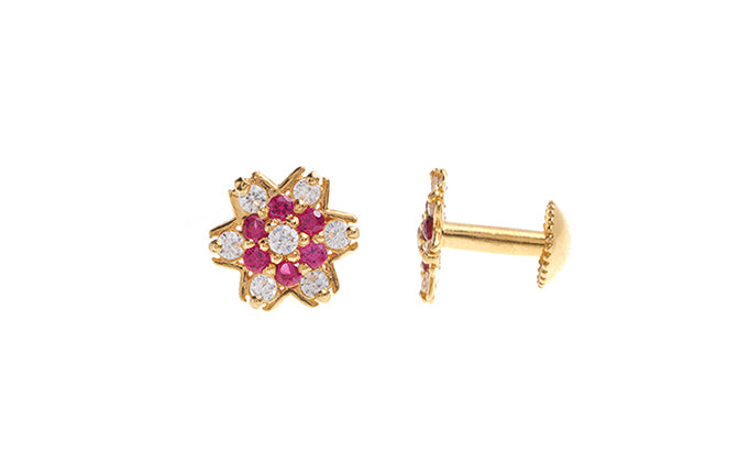 22ct Gold Earrings Minar Jewellers
