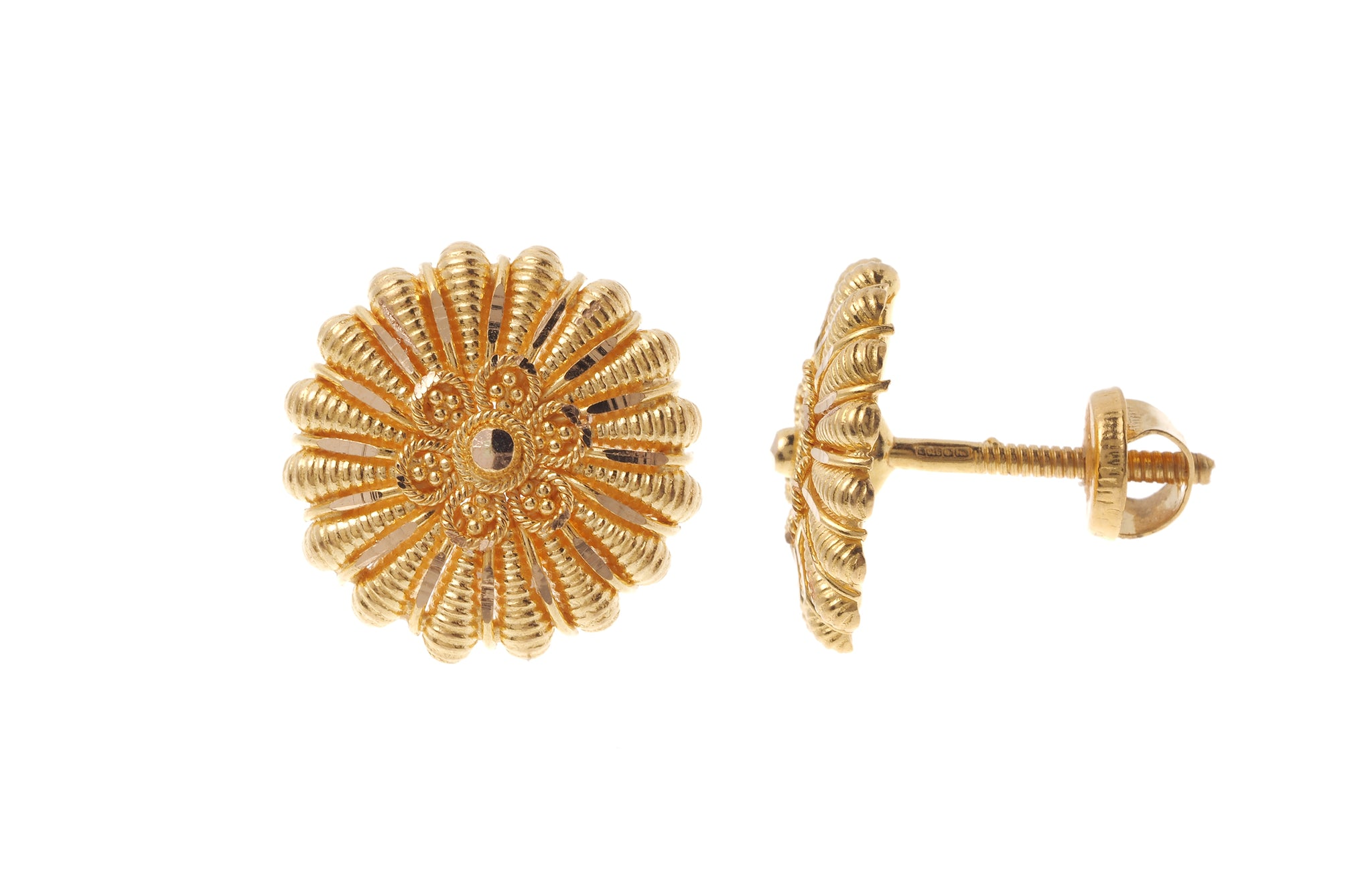 22ct Gold Earrings - Minar Jewellers
