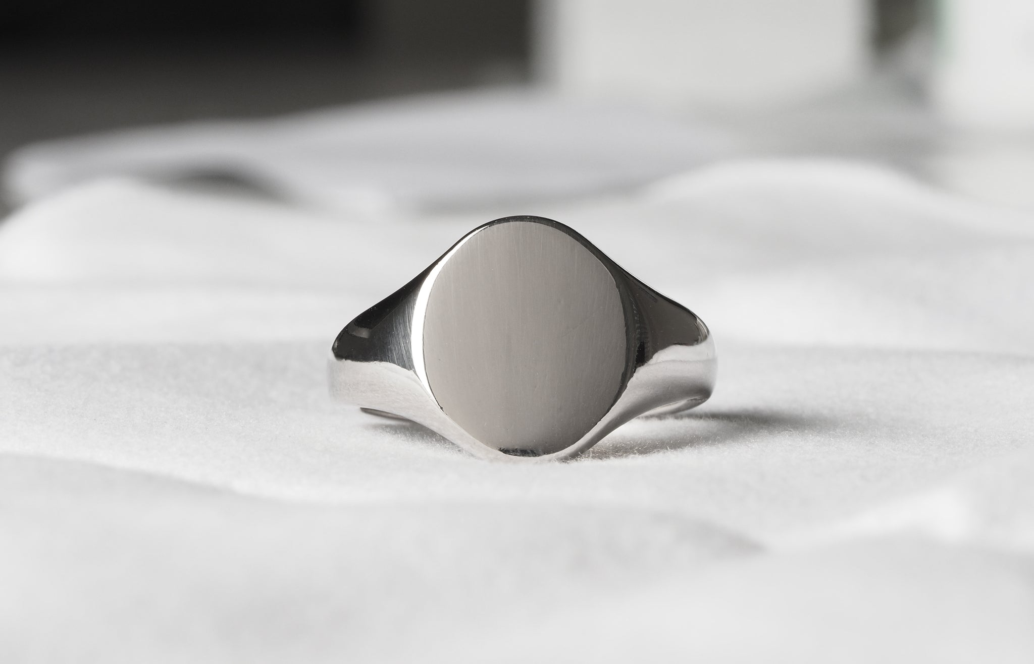 Palladium Gents Signet Ring EX427P