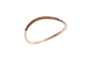 18ct Rose Gold Red Garnet Ring (GARE4023)