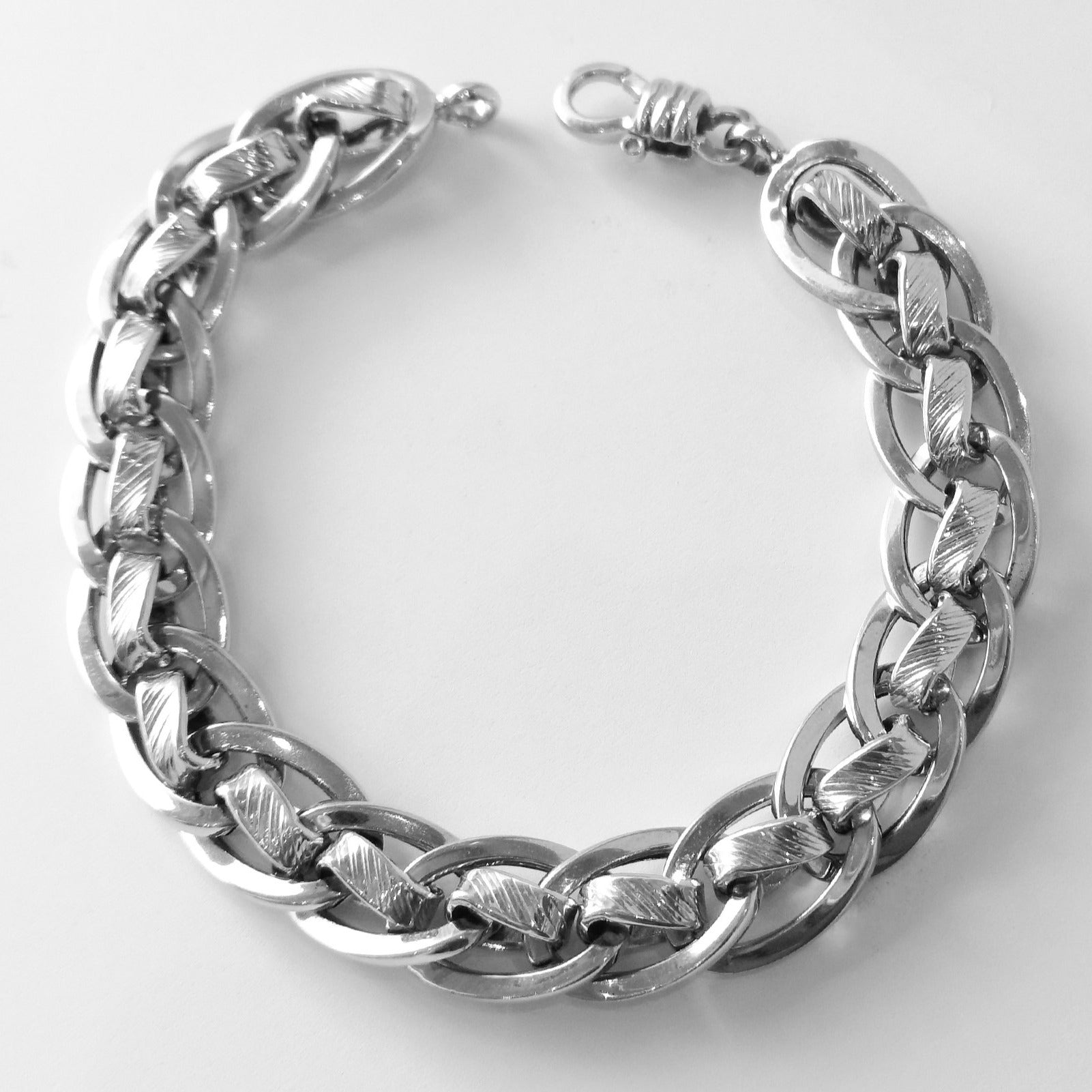 Gents Bracelet 18ct White Gold (18.6g) GBR-4287