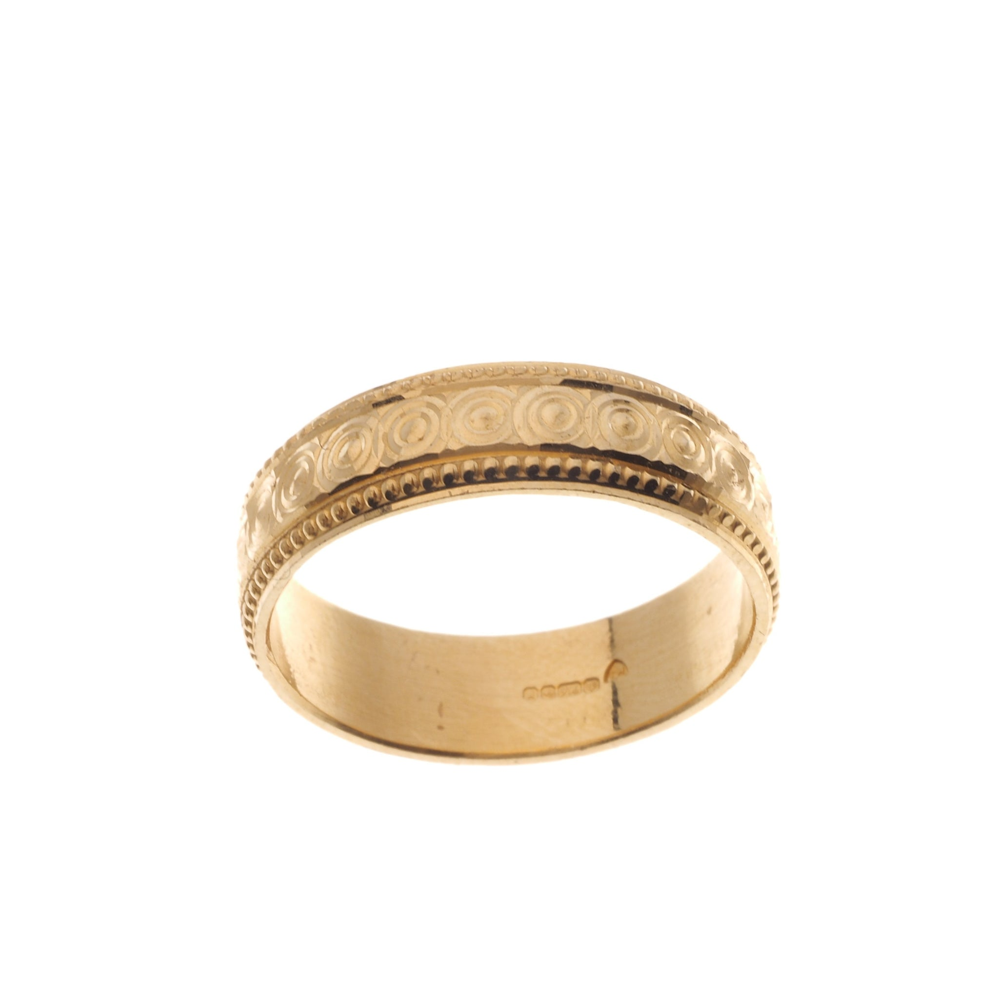 22ct Gold Gents Wedding Band (7.4g) GR-4759