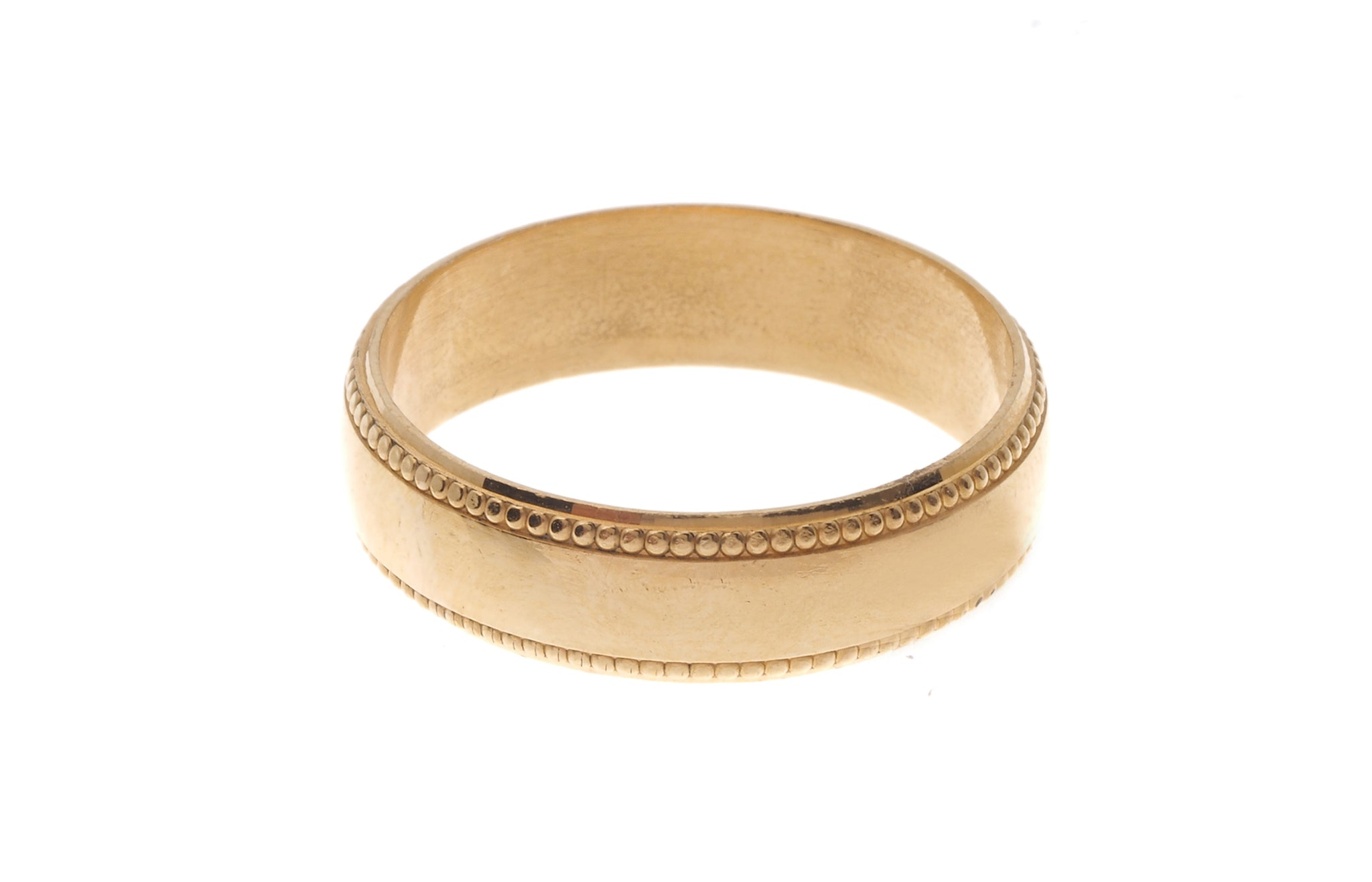 22ct Gold Gents Wedding Band (8g) GR-4765