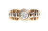 18ct Two Tone Diamond Gents Ring