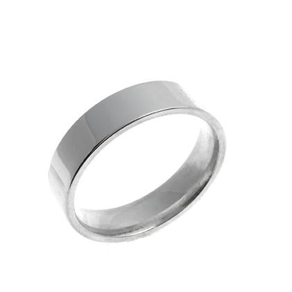 Sterling Silver Gents Wedding Band (GR-5823)